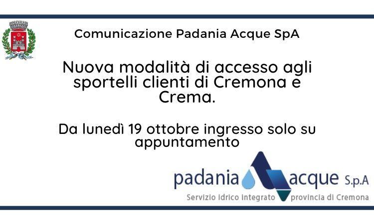 Padania Acque Spa su appuntamento